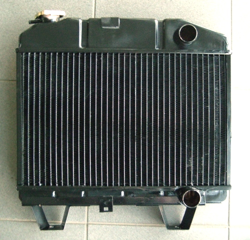 Peugeot 504 3rows zigzag engine view
